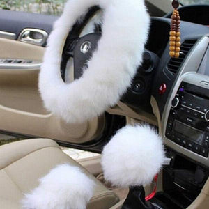 Furry Steering Wheel Cover
