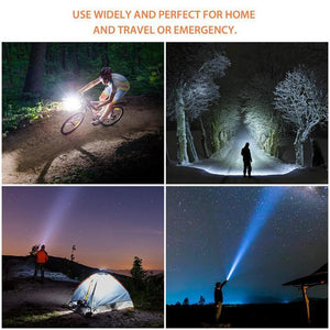 Portable Ultra Bright Handheld LED Flashlight
