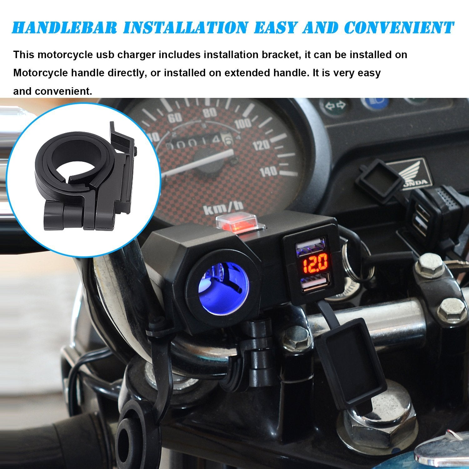 4 in 1 Multifunctional Power Supply for Motorcycles(buy two free shipping)
