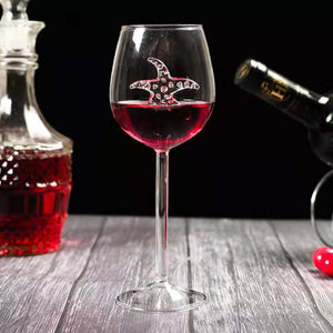 【Clear inventory  50% OFF】SHARK RED WINE GOBLET (Handmade)
