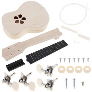 2019 DIY Handmade Ukulele Kit + Painting Kit
