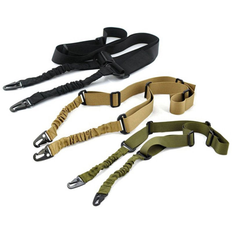 Outdoor Air Gun Accessories Tactical 2 Point Task Rope Rifle Strap Multi-function Nylon Two-point Tactical Hunting Gun Belt
