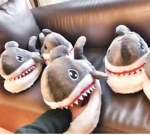 Shark Bite Warm Indoor Slippers