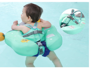 Non Inflatable Swimming Ring - 3 Point Safety