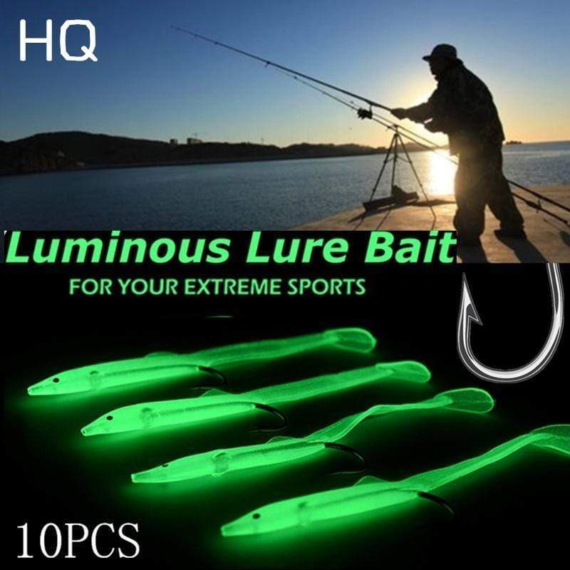 Discoverer One 5.5CM(5PCS) High-quality Lifelike Artificial Luminescent Small Carp  with Hook  Fishing Lure Fishing Luminous Lures Fishing Bait Hooks
