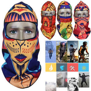 2019 Bike Cycling Face Mask Windproof Dust-proof Polyester Bike Full Face Scarf Mask Neck Bicycle Snowboard Ski Mask Scarves