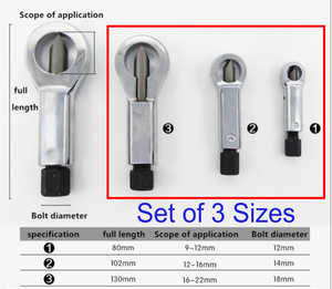 SuperCAST™ Heavy-Duty Nuts Splitter Tools [Limited Stock]