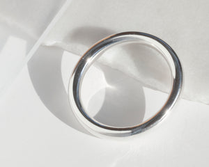 Everyday Silver Bangle