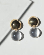 Load image into Gallery viewer, Double Dome Earrings