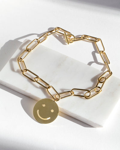 Oversized Smile Necklace