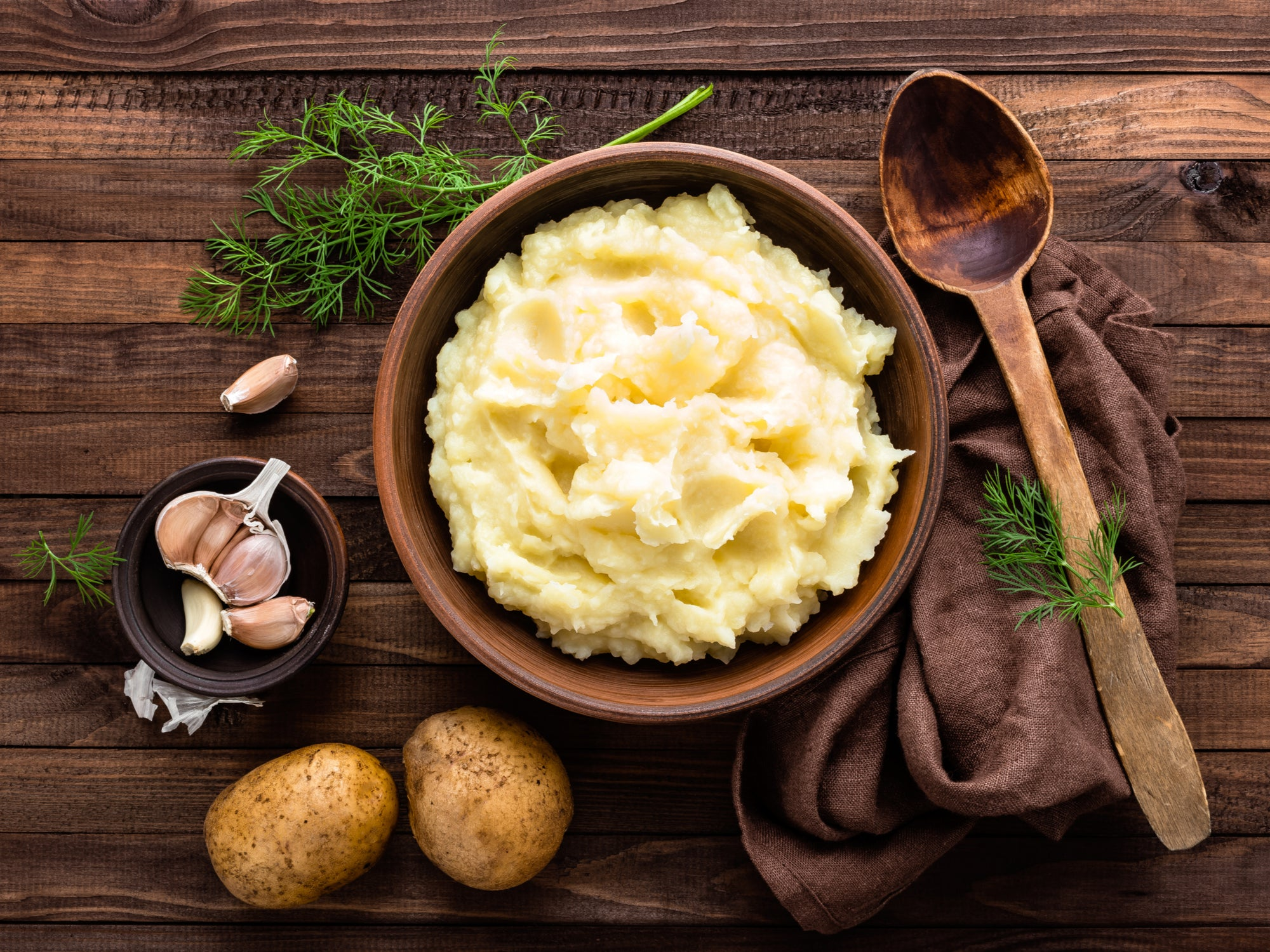 Loaded Mashed Potatoes Made in the Kalorik MAXX Air Fryer Oven