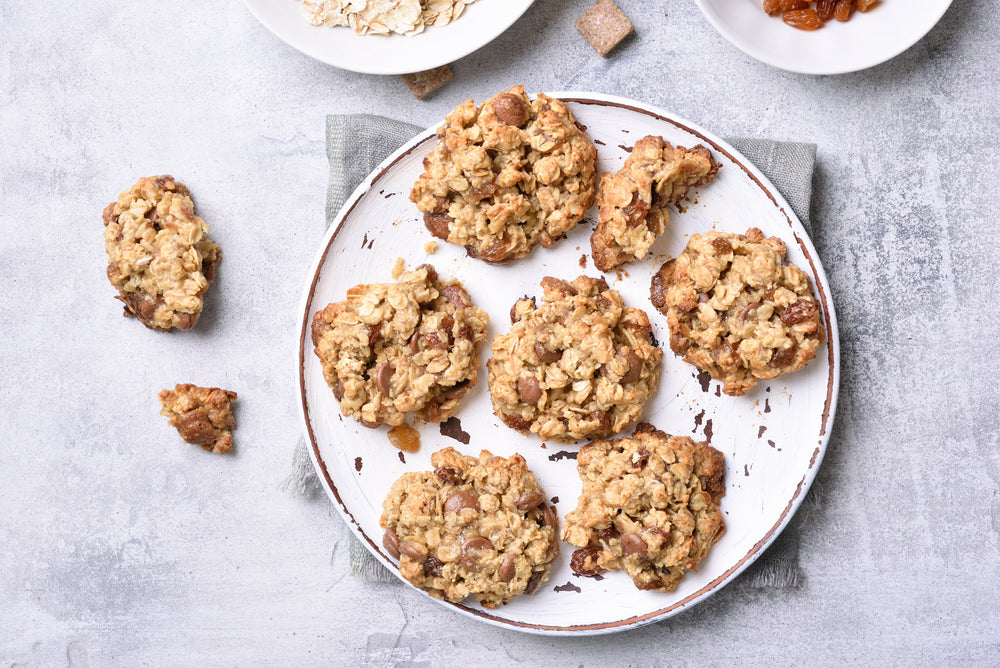 Chocolate Chip Oatmeal Cookies in the Kalorik MAXX Air Fryer Oven