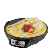 Kalorik 3-in-1 Griddle, Crepe and Pancake Maker, Black