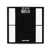 Kalorik Electronic Body Analysis Scale, Black