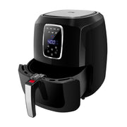 Kalorik 5.3 Quart Digital Air Fryer XL, Black and Stainless Steel