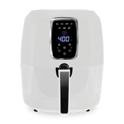 Kalorik 5.3 Quart Digital Air Fryer XL, White and Stainless Steel