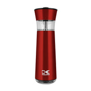 Kalorik Electric Gravity-Activated Salt and Pepper Mills, Red