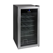 Kalorik 2-in-1 Wine and Beverage Center, Silver