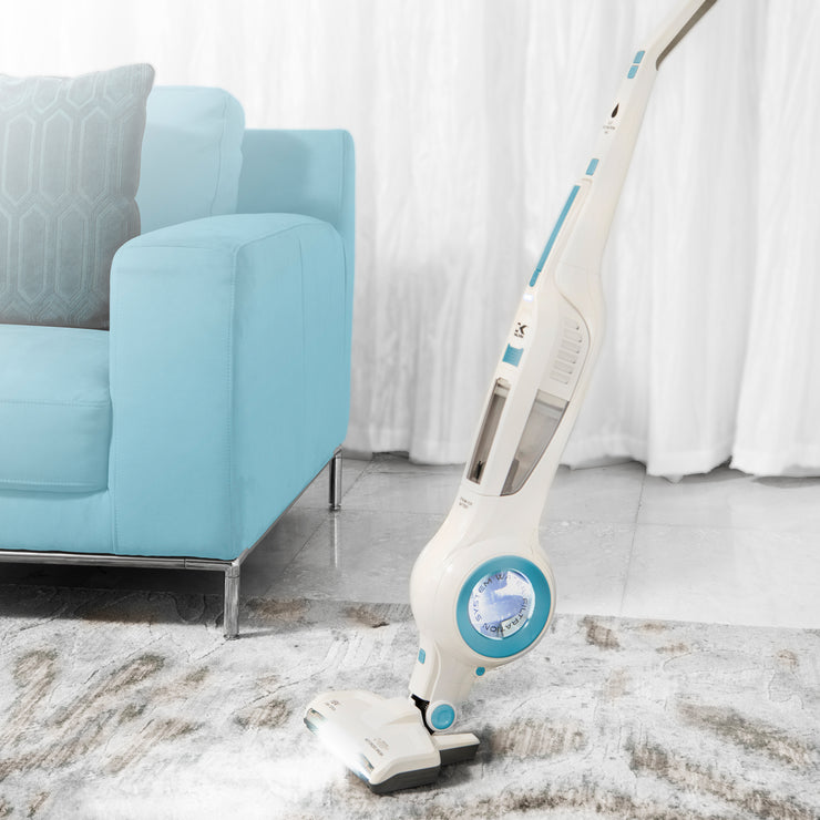 Kalorik 2-in-1 Cordless Water Filtration Vacuum Cleaner, White