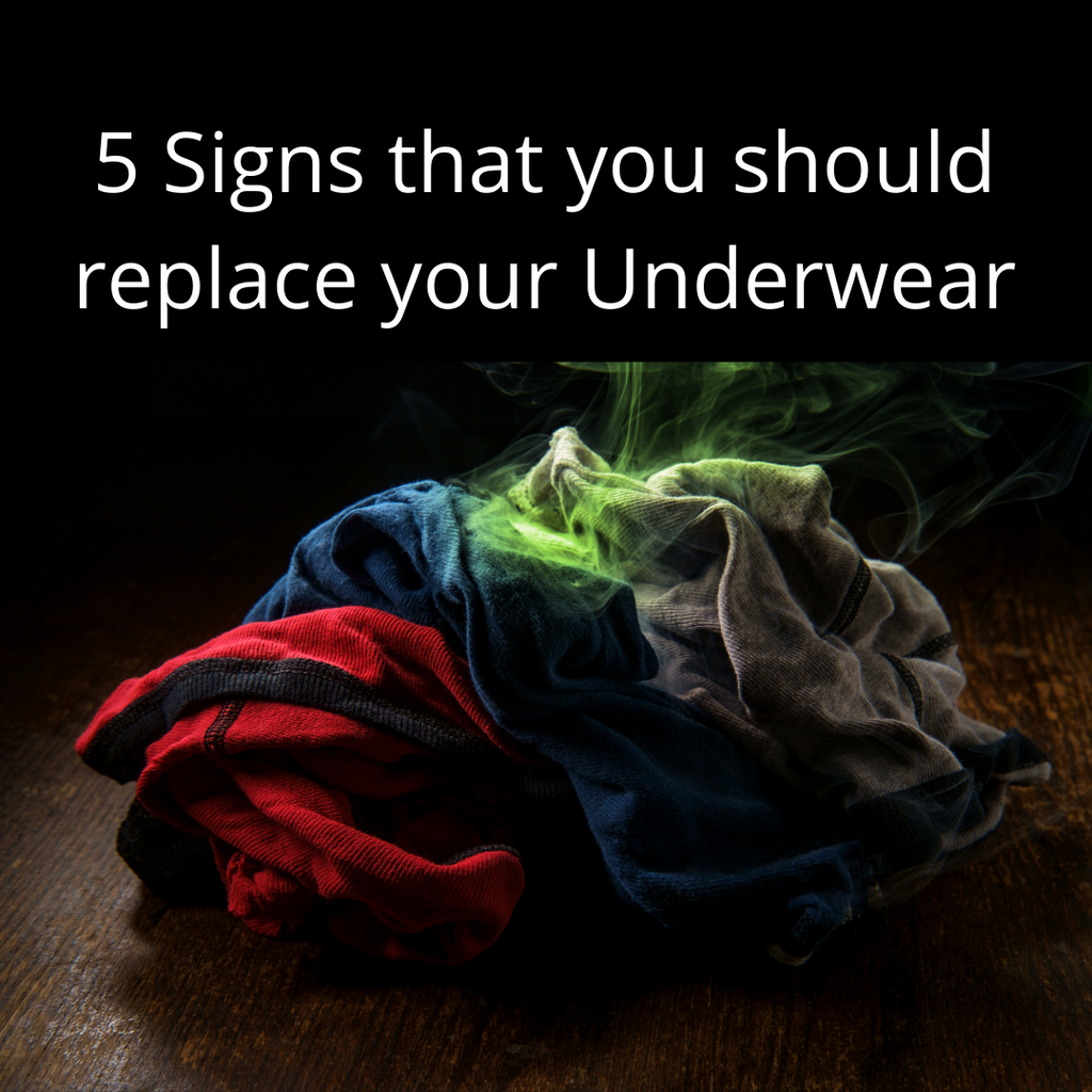 5 Signs That You Should Replace Your Underwear