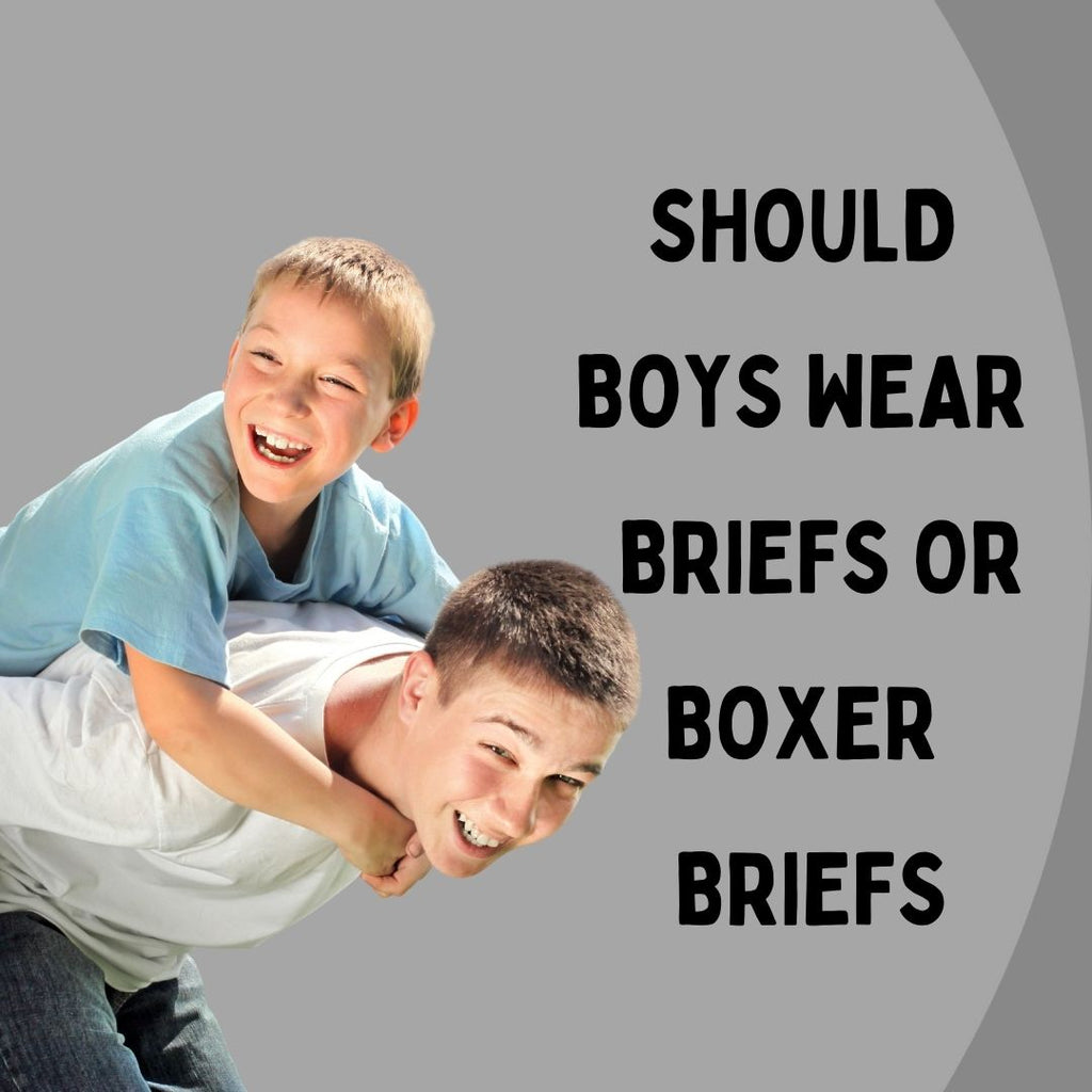 Should Boys Wear Briefs or Boxer Briefs