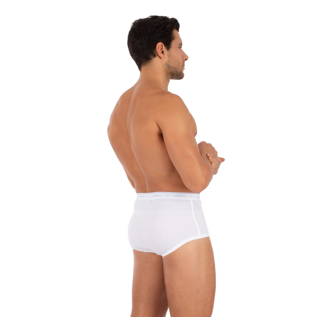 Jockey® 100% Cotton Classic Y-Front® Brief (3-Pack)