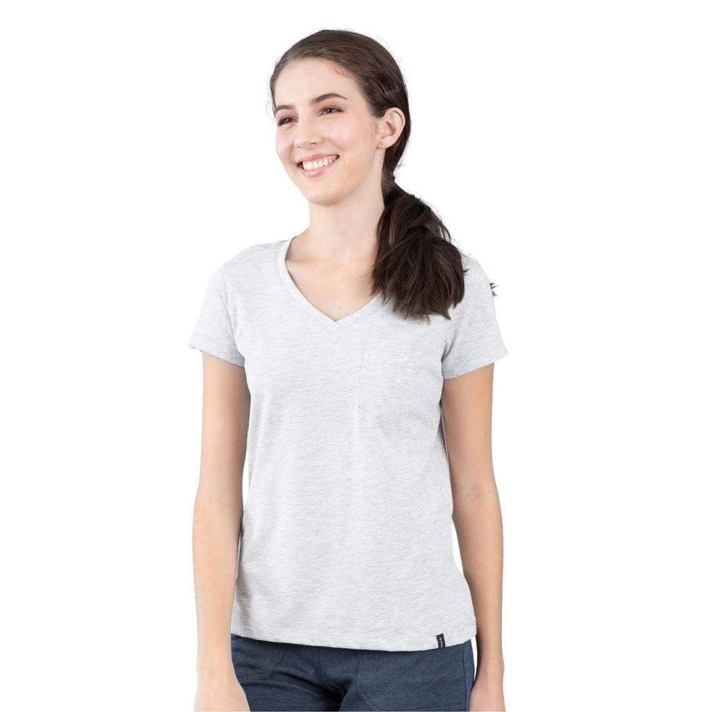 Jockey® 100% Cotton Womens V-neck  T shirt with pocket T shirt