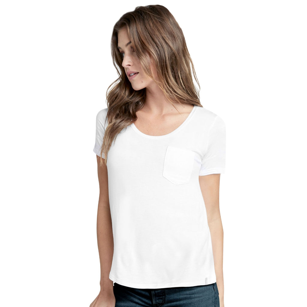 Jockey® Cotton Blend Elance Round Neck T-Shirt with Pocket