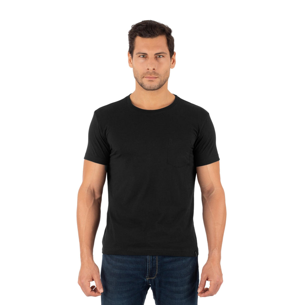 Jockey® Cotton Blend Elance Mens Round Neck with Pocket T Shirt