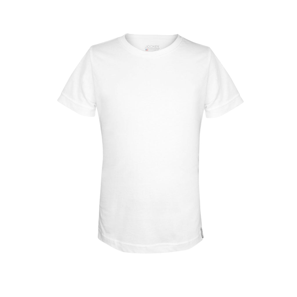 Jockey® 100% Cotton Kids Boys Round Neck T-Shirt