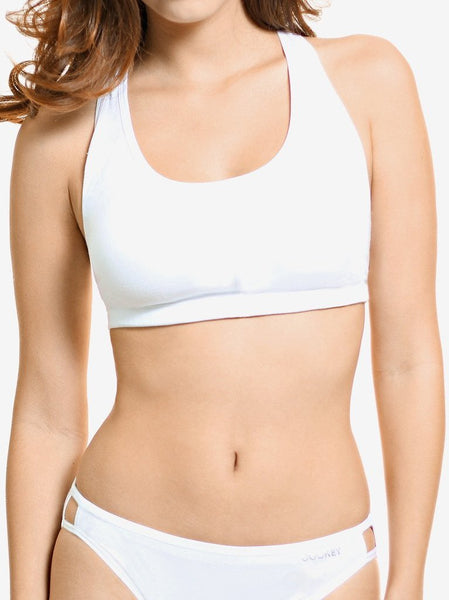 Comfort Stretch Racer Back Crop Top