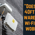 Can you trust our 12m 40ft warehouse Wi-Fi site survey mast tripods?