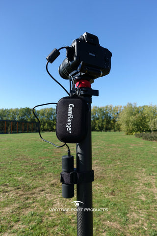 CamRanger Mini Review by Vantage Point Products carbon fibre aerial mast supplier UK
