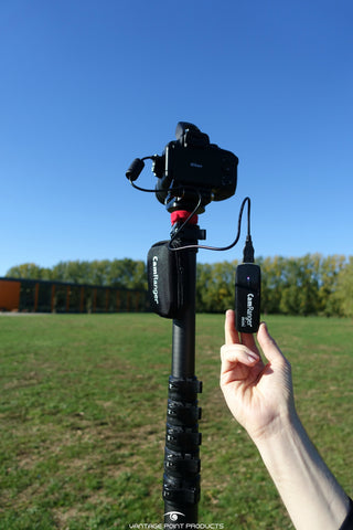 CamRanger Mini review for aerial photography by mast supplier Vantage Point Products