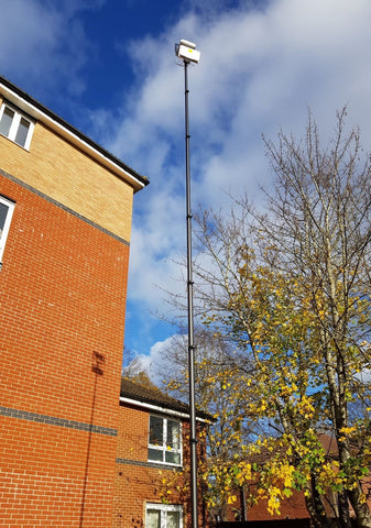 Vantage Point Products Tall Wi-Fi Site Survey Mast Tripod for Cisco AP and Antenna
