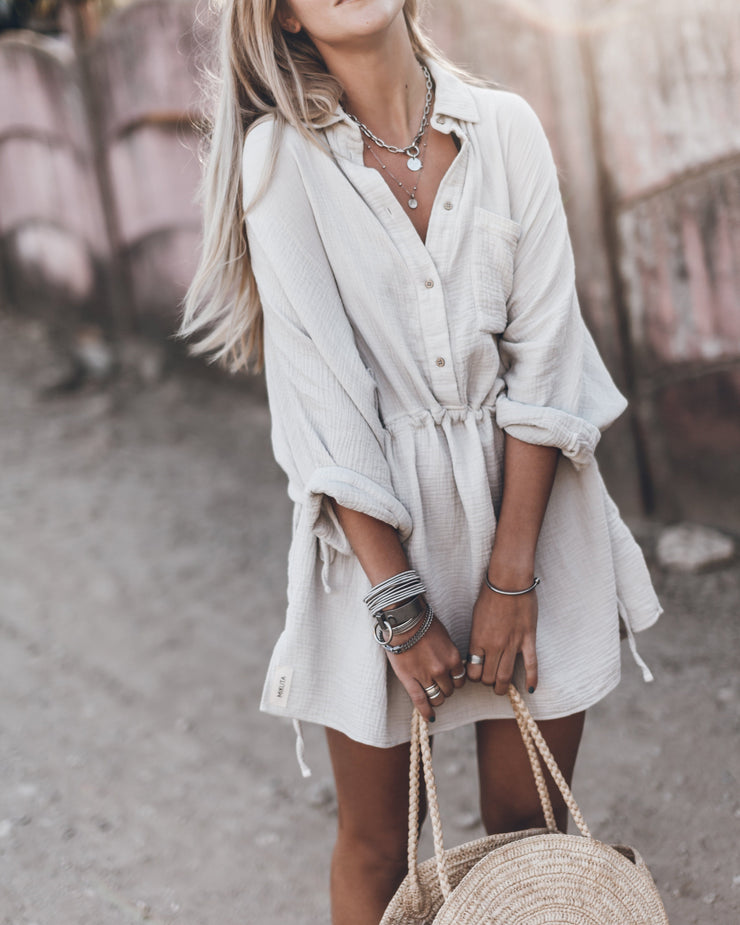 The Light Shirt Dress