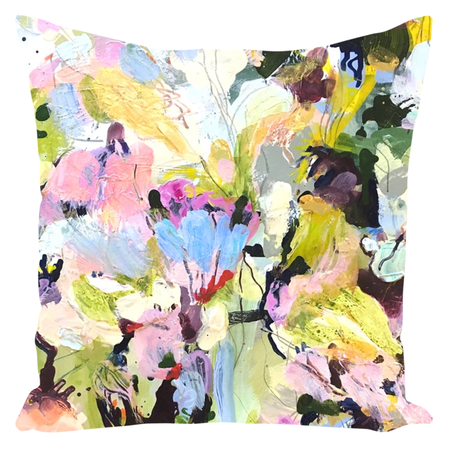 Wild Floral Throw Pillows
