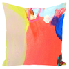 Orange Canyon Throw Pillows