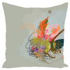 Olive Splash Throw Pillows