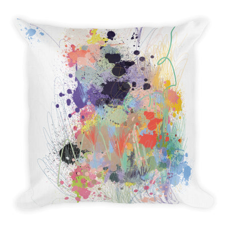 Lavender Explosion Throw Pillows