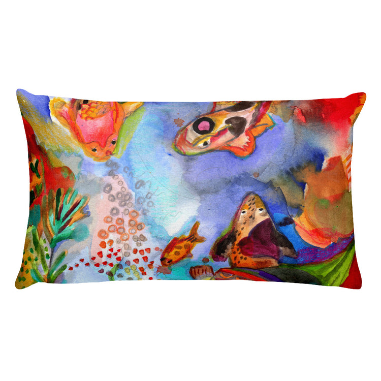 Sweet Fishes Premium Pillow