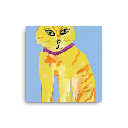 Ginger Feral Canvas