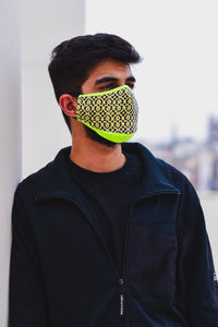 Fluoro Routine Unisex Cotton Face Mask