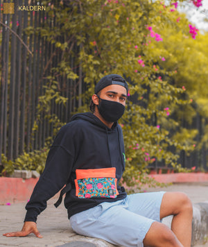 Retro Bloom Fanny Pack