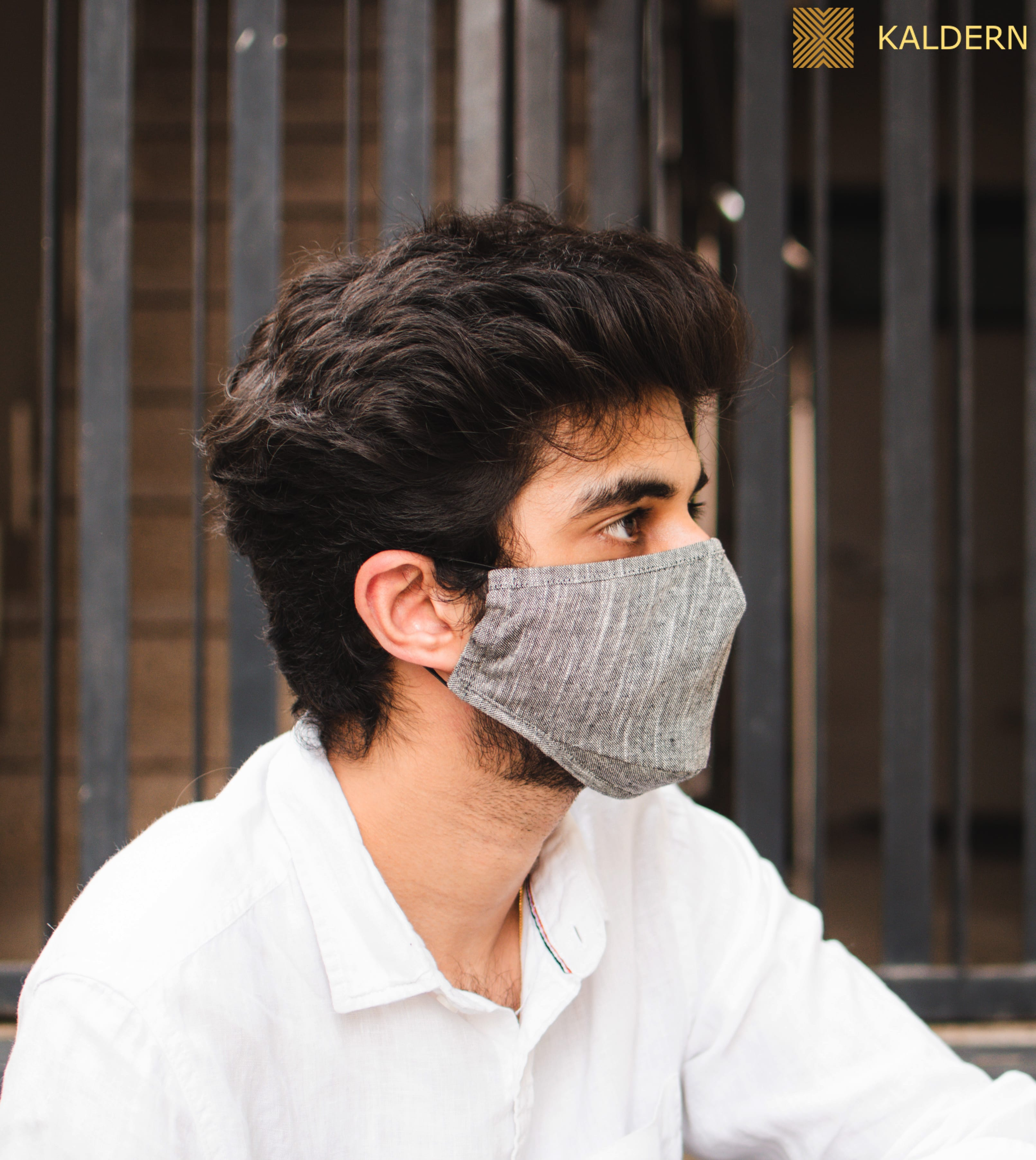 Unisex Formal Cotton Face Mask : Pack Of 3