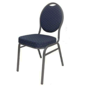Banquet Chair Royal Blue