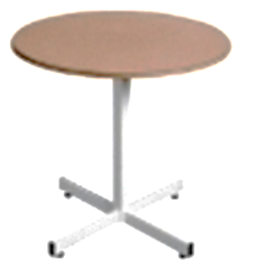 Supawood Restaurant Round Table & Base 1050 Diameter