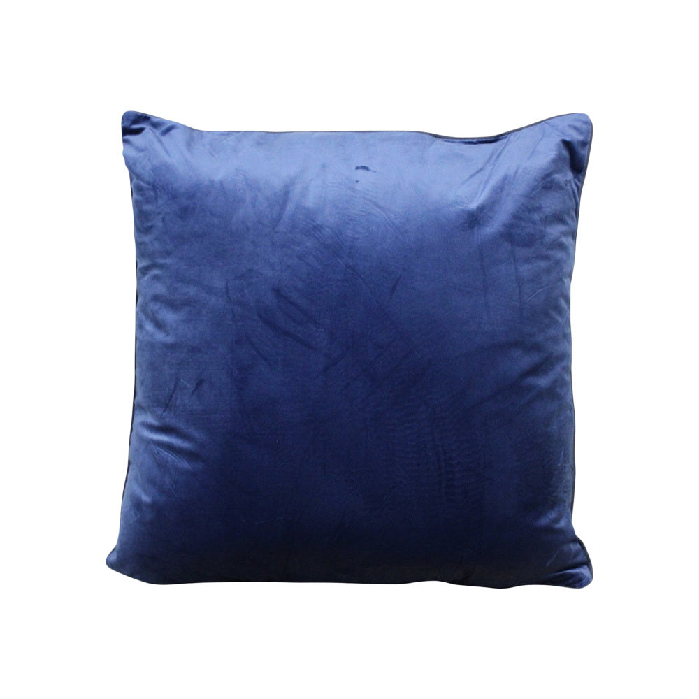 Velvet Navy Cushion