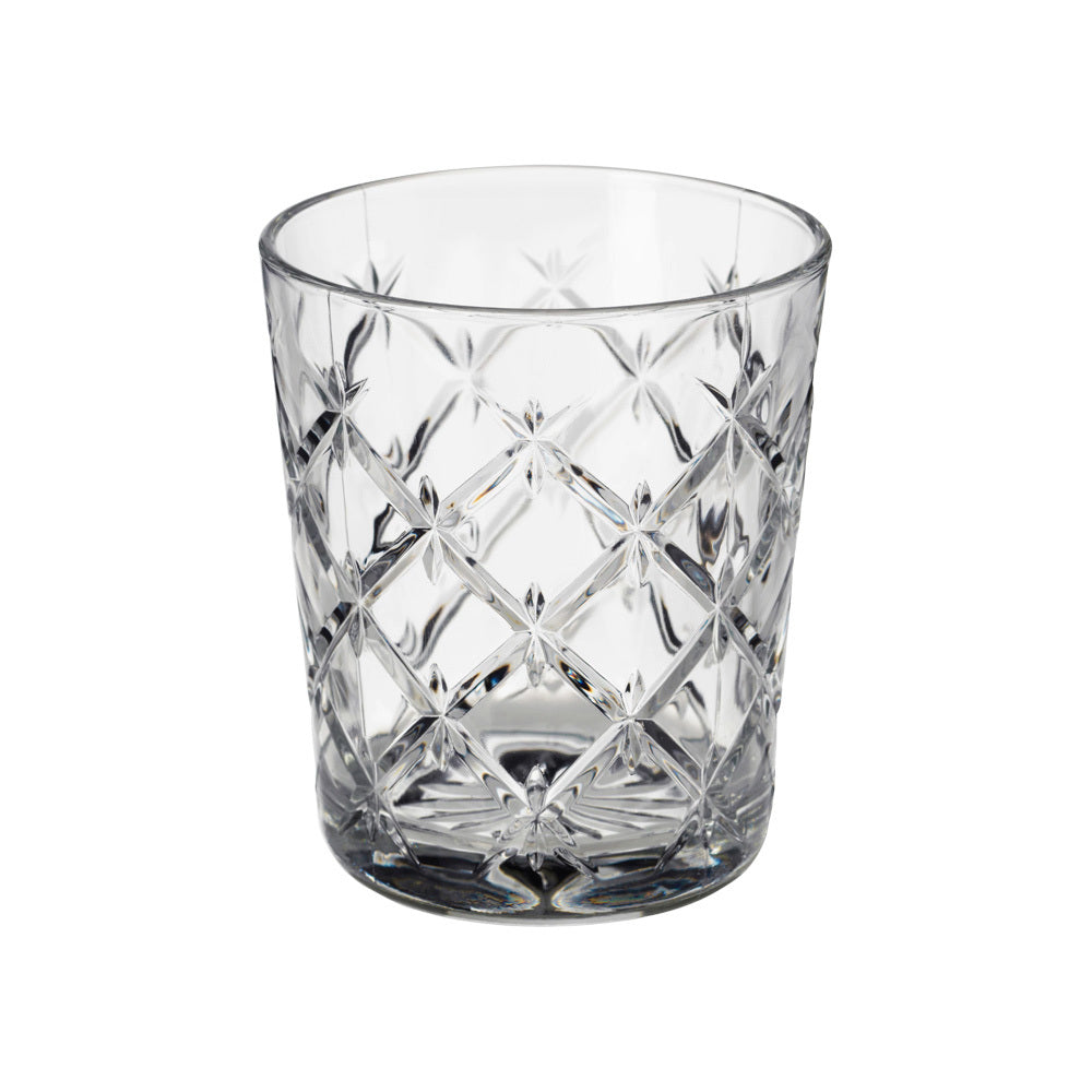 Decorative Crystal Water Glass (clear)