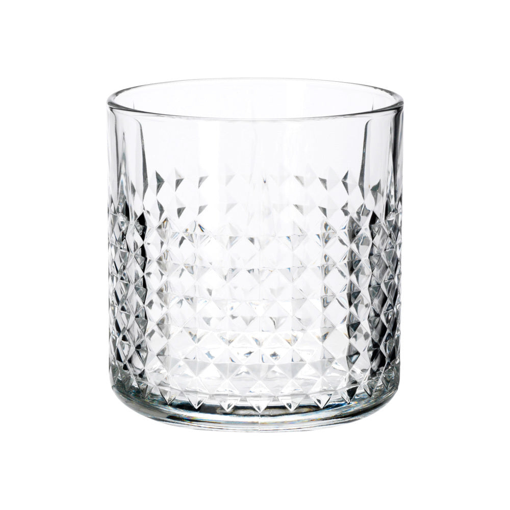 Decorative Crystal Whiskey Glass (clear)